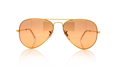 Ray-Ban Aviator Large Metal RB3025 001/3E Gld Sunglasses at OCO