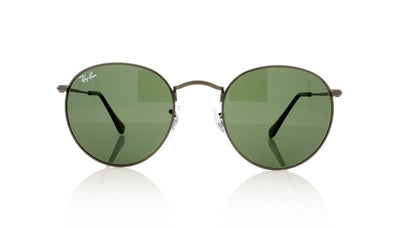 Ray-Ban Round Metal 029 Matte Gunmetal Sunglasses at OCO