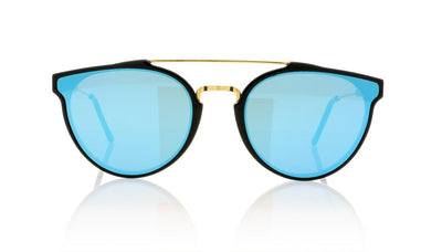 RETROSUPERFUTURE Giaguaro A4W Forma Blue Sunglasses at OCO