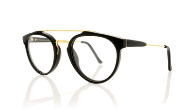 RETROSUPERFUTURE Giaguaro Optical CGP Black Glasses at OCO