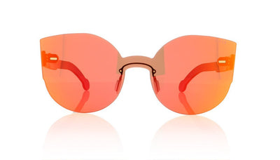 RETROSUPERFUTURE Tuttolente Lucia 73Q Red Sunglasses at OCO