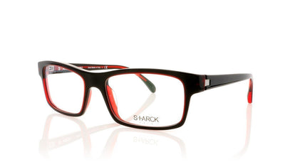 Starck SH1261 2707 Matte Red Black Red Glasses at OCO