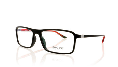 Starck SH3023 0001 Matte Black Glasses at OCO