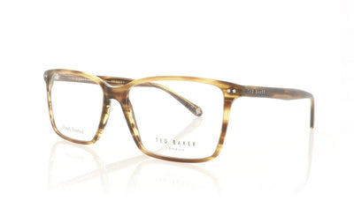 Ted Baker Axel TB8119 105 Amber Horn Glasses at OCO