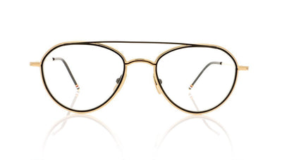 Thom Browne TB-109 A White Gold Glasses at OCO