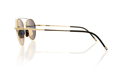 Thom Browne TB-109 A-T White Gold Sunglasses at OCO