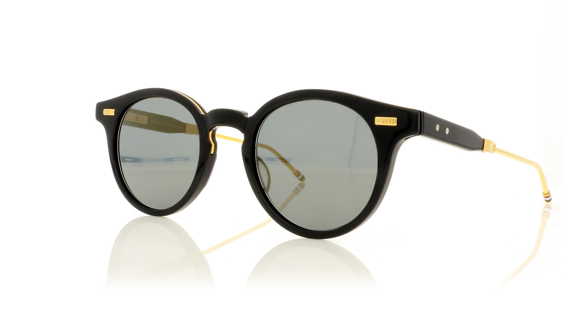 7562a1427b98 Thom Browne TB-806 C Navy Sunglasses