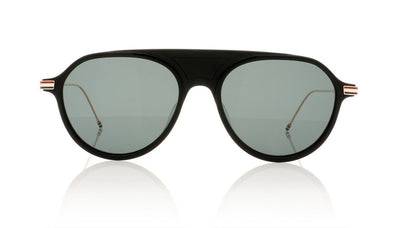 Thom Browne TB-809 A Matte Black Sunglasses at OCO