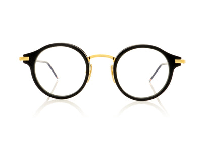 Thom Browne TB 807 NVY GLD Navy Gold Glasses at OCO