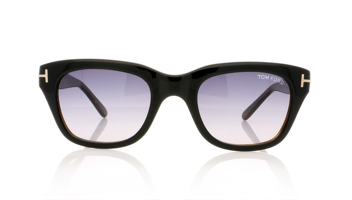 61125deaf2 Tom Ford Snowdon TF237 05B Black Sunglasses at OCO