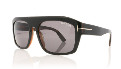 Tom Ford Conrad TF470 05A Black Sunglasses at OCO