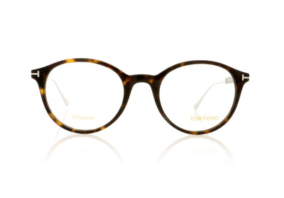 Tom Ford TF5485 052 Dark Havana Glasses at OCO