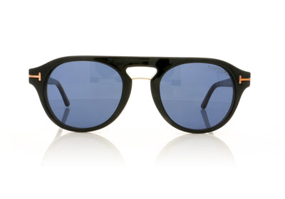 Tom Ford TF5533-B 01V Shiny Black Glasses