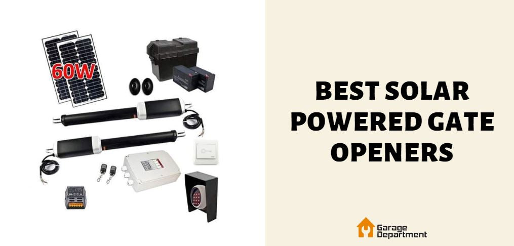 best solar powered gate openers