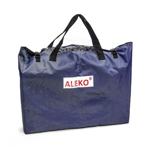 Aleko Floorboard Storage And Carrying Bag For Inflatable Boats Strap Closure 27 X 35 Inches Blue Bfsbag320B-Ap Supplies And Accessories