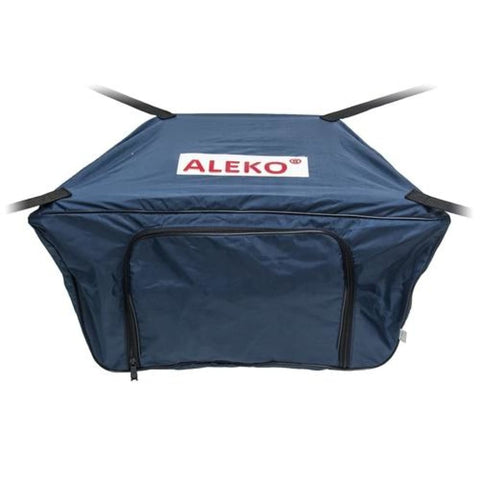 Aleko Front Bow Storage Bag For 10.5 Foot Boats 26 X 15 Inches Blue Btfb320B-Ap Supplies And Accessories