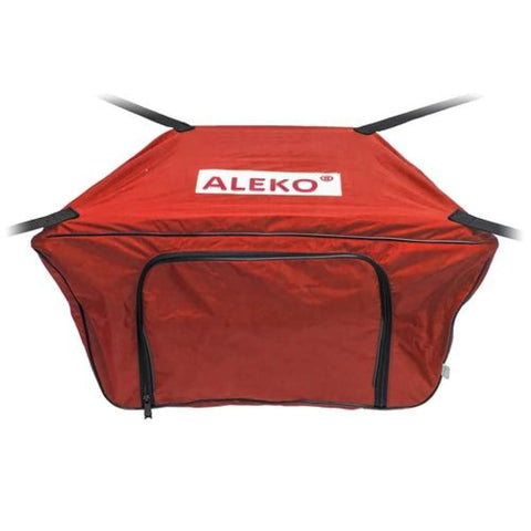 Aleko Front Bow Storage Bag For 8.4 Foot Boats 26 X 16 Inches Red Btfb250R-Ap Supplies And Accessories