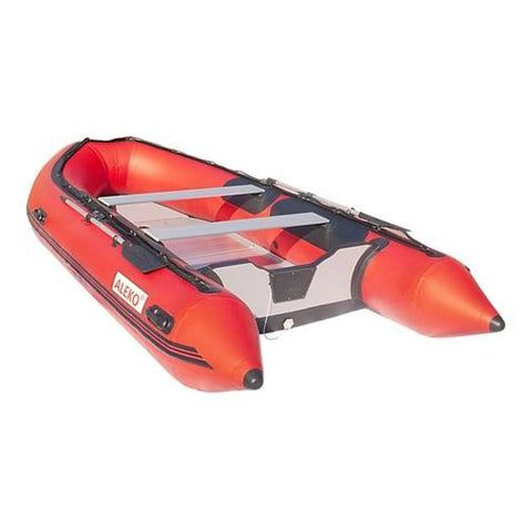 Aleko Inflatable Boat With Aluminum Floor 13.8 Ft Red Bt420R-Ap Boats With Aluminum Floor 13.8 Ft