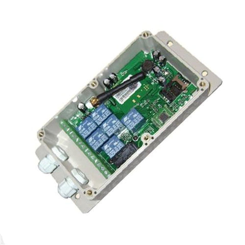 Aleko Seven Output Gsm Relay With Application Lm182-Ap Gsm Switches