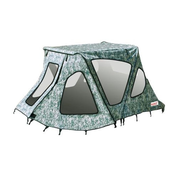 Aleko Winter Waterproof Canopy Tent For Inflatable Boats