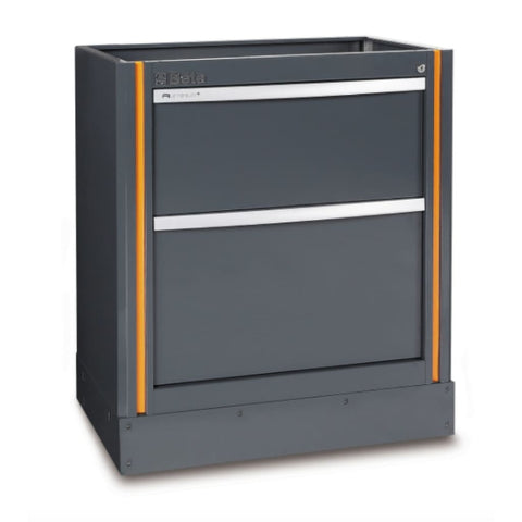 Beta Tools Fixed Module With 2 Drawers C55M2 Tool Cabinet