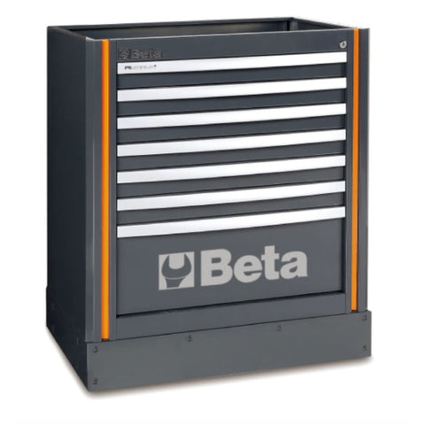 Beta Tools Fixed Module With 7 Drawers C55M7 Tool Cabinet