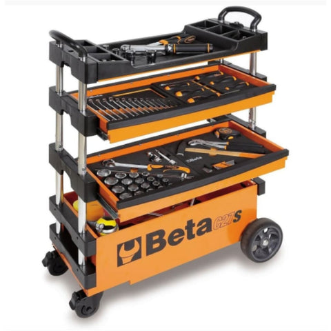 Beta Tools Folding Tool Trolley C27S Trolley