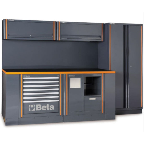 Beta Tools Garage Furniture Combination C55 Ab/2 Garage Furniture Combination