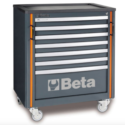 Beta Tools Mobile Roller Cabinet 7 Drawers C55C7 Roller Cabinet