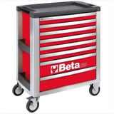 Beta Tools Mobile Roller Cabinet 8 Drawer C39 Red Roller Cabinet