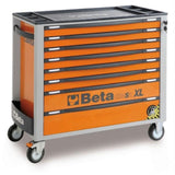 Beta Tools Roller Cabinet 8 Drawer Long C24Sa-Xl Orange Roller Cabinet