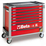 Beta Tools Roller Cabinet 8 Drawer Long C24Sa-Xl Red Roller Cabinet