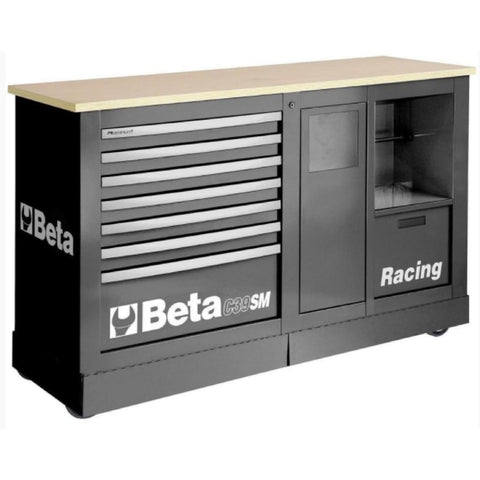 ... Beta Tools Special Racing Mobile Roller Cabinet C39Sm Grey Roller  Cabinet ...