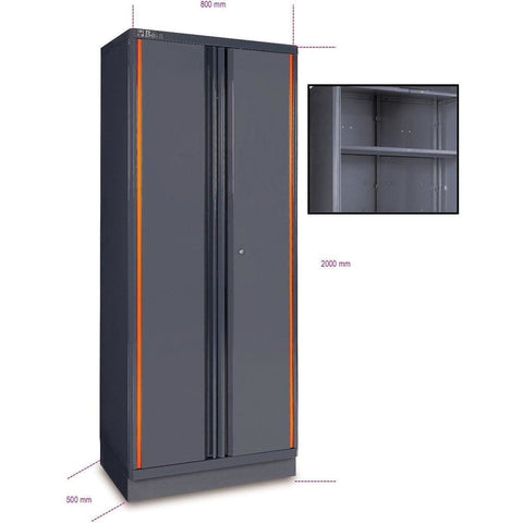 Beta Tools Two Door Tool Cabinet C55A2 Tool Cabinet