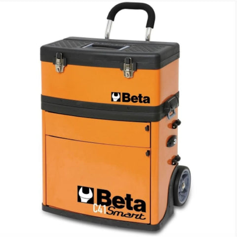 Beta Tools Two Module Tool Trolley C41S Trolley
