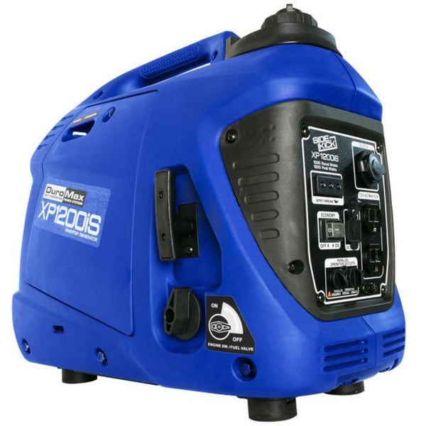 Duromax 1 200 Watt Portable Digital Inverter Gas Powered Generator Xp1200Is Gas Powered Generators