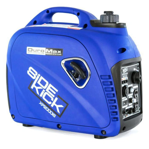 Duromax 2000 Watt Digital Inverter Gas Powered Portable Generator Xp2000Is Gas Powered Generators