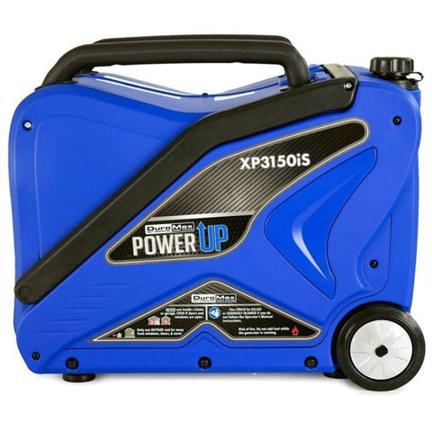 Duromax 3000 Watt Gas Powered Digital Inverter Portable Generator Xp3150Is Gas Powered Generators