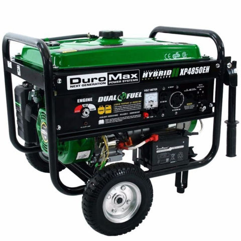 Duromax 4850 Watt Dual Fuel Hybrid Generator W/ Electric Start Xp4850Eh Dual Fuel Generators