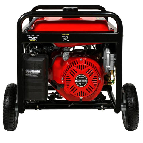DuroMax 5500 Watt Electric Start Dual Fuel Hybrid Portable Generator