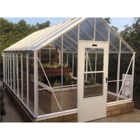 Essex Clear View Milford 10 ft x 24 ft Greenhouse 10/24ML Essex Clear View Milford Greenhouse