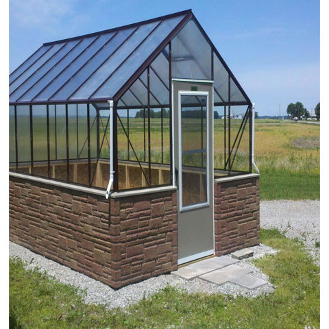 Essex Clear View Milford 12 ft x 16 ft Greenhouse 12/16ML Essex Clear View Milford Greenhouse