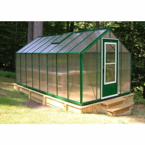 Essex Milford 8 ft x 24 ft Greenhouse 8/24ML Essex Milford Greenhouse