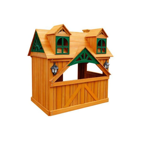 Gorilla Playsets Malibu Playhouse 01-3036-G Gorilla Playsets Free Standing Additions