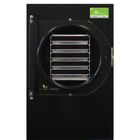Harvest Right Large Home Freeze Dryer HRFD-PLrg-BK Black / Oil Pump (Included) Harvest Right Home Freeze Dryers