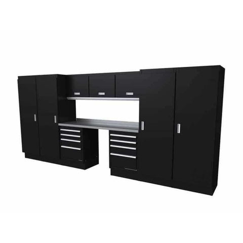 Moduline Select Series 14 Wide Garage Cabinet Combination Segc014-010 Black Select Series
