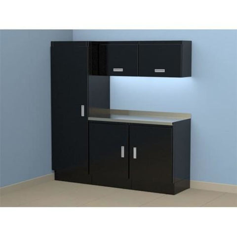 Moduline Select Series 6 Wide Garage Cabinet Combination Segc006-020 Black Select Series