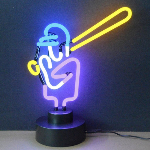 Neonetics Baseball Neon Sculpture 4Baseb Neon Signs