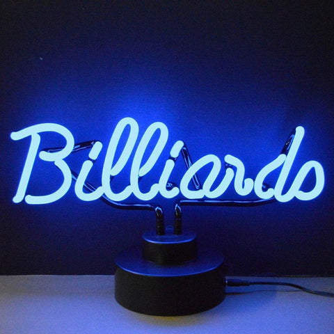 Neonetics Billiards Neon Sculpture 4Blrds Neon Signs