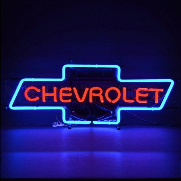 Neonetics Chevrolet Bowtie Neon Sign 5Chvbo Neon Signs